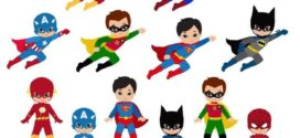 272x125 superhero girl super hero clip art free clipart images on