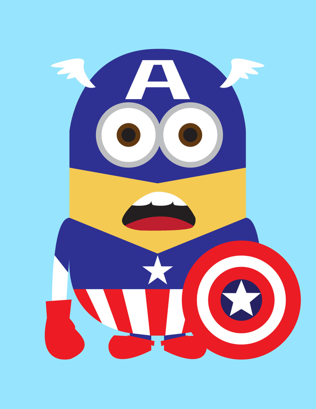 625x809 Minion Superhero Cliparts