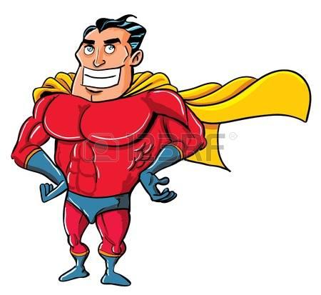 450x413 Superhero Clipart