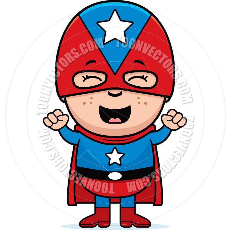 940x940 Child Superhero Excited By Cory Thoman Toon Vectors Eps