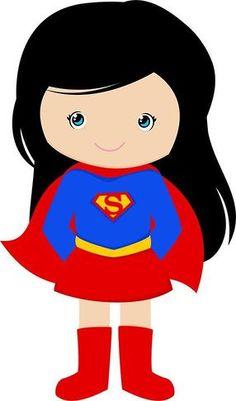 236x401 Supergirl clipart super kid