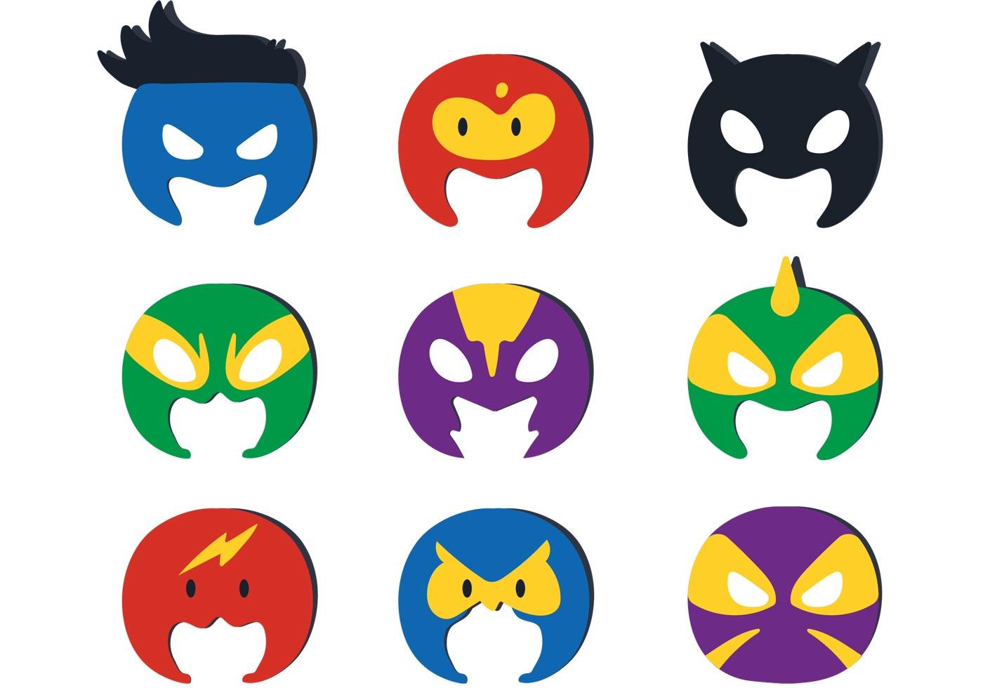 1400x980 Superhero Vector Logos