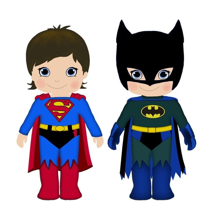 736x736 Superman Kid Clipart Girl