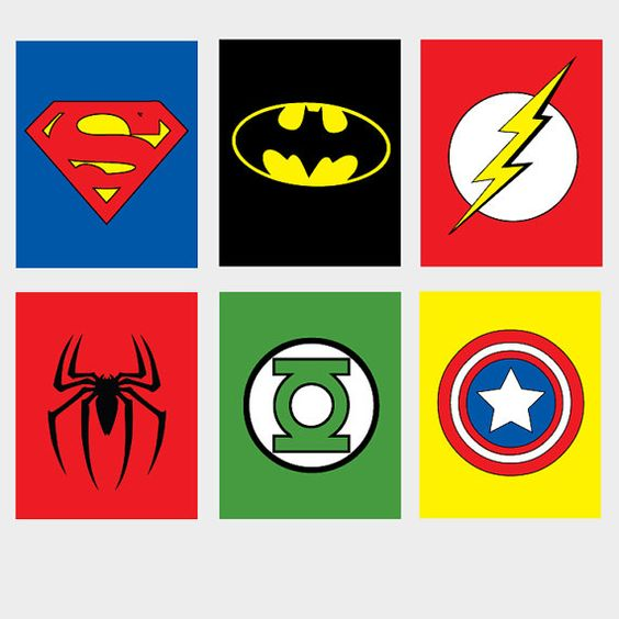 564x564 6 Printable Super Hero Superhero Wall Art Spiderman By Armcarthur