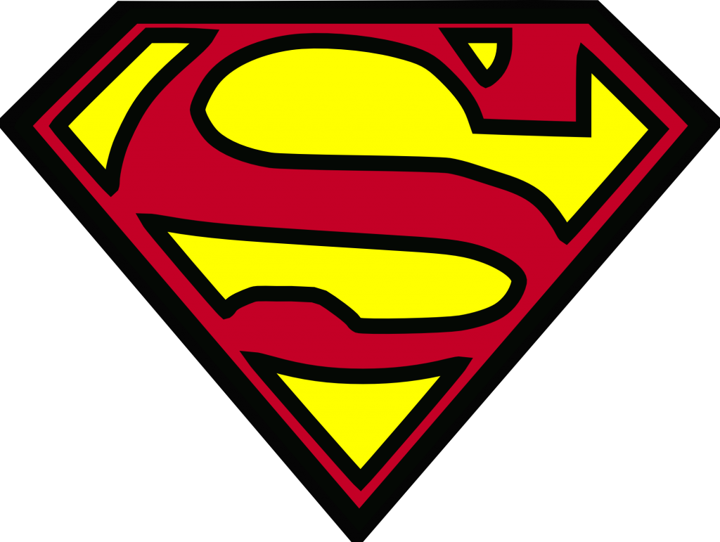 picture regarding Free Printable Superhero Logos referred to as Superhero Trademarks Clipart Cost-free down load least difficult Superhero Trademarks