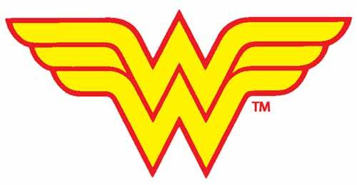 500x260 Wonder Woman Logo Clip Art Svg Files Wonder Woman