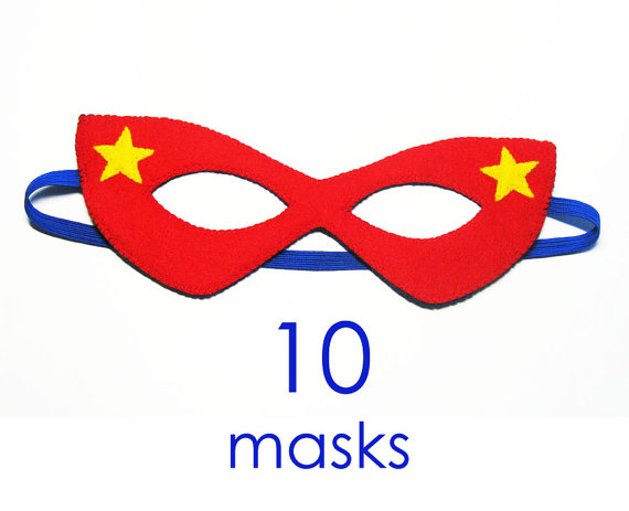 Superhero Mask Clipart