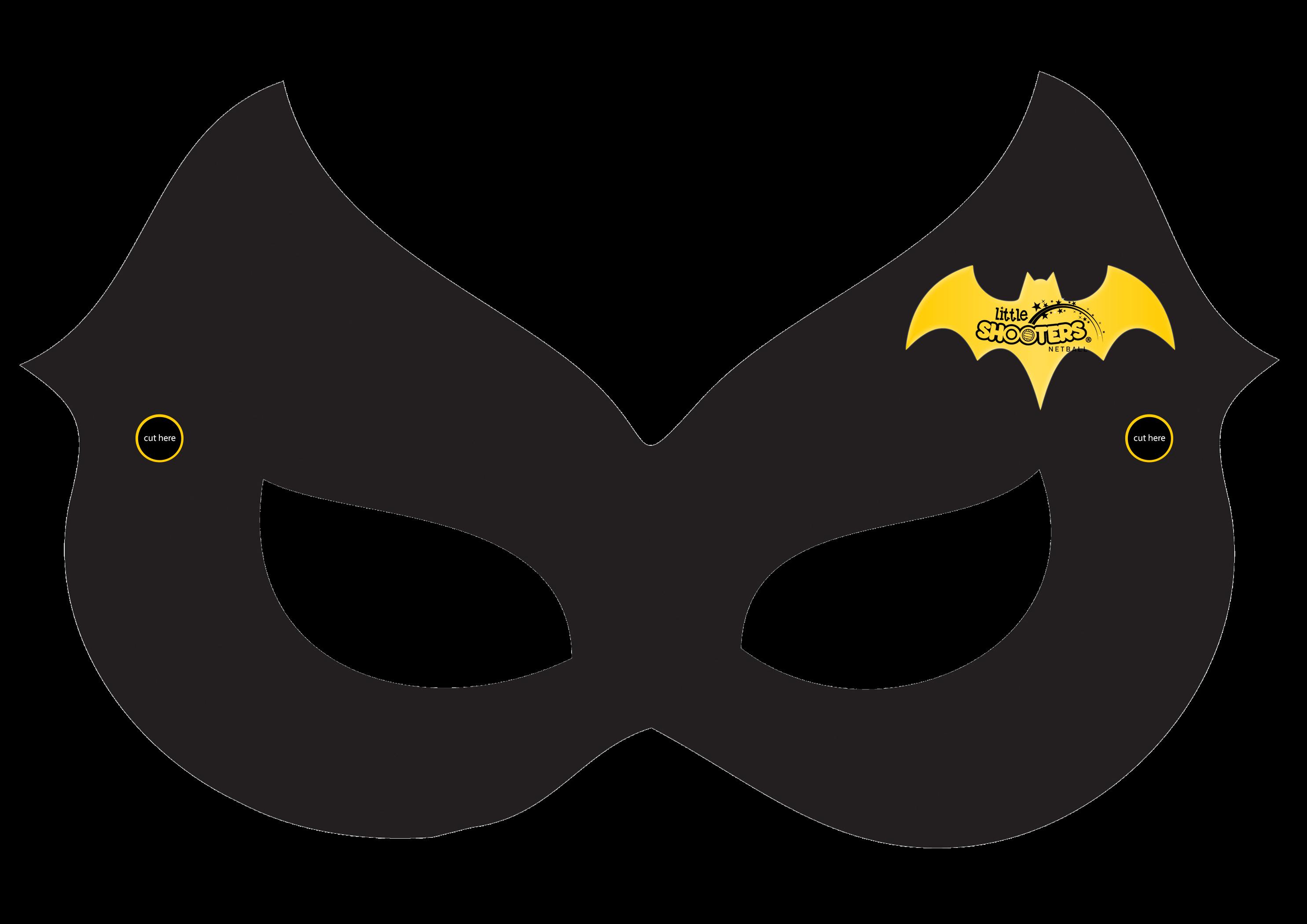 2970x2100 Masks Clipart Batgirl