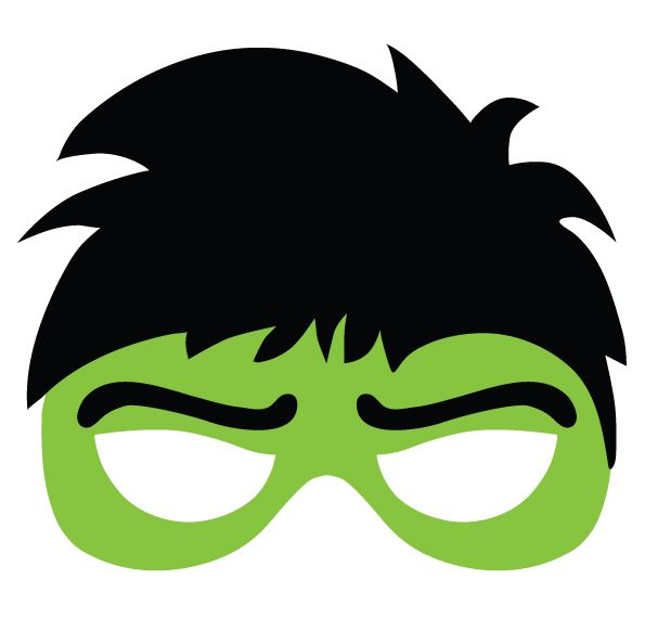 595x582 Masks Clipart Hulk
