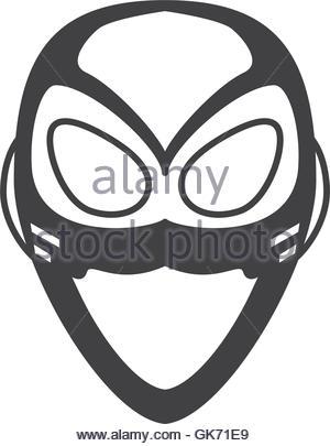 300x405 Superhero Superman Mask Face Design Stock Vector Art