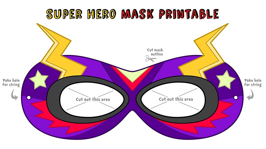 848x476 Make Your Own Super Awesome Superhero Mask! Explore Awesome