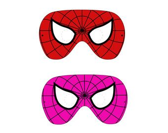 Magnificent spiderman face template photos the best curriculum superhero mask template free download best superhero mask voltagebd Image collections