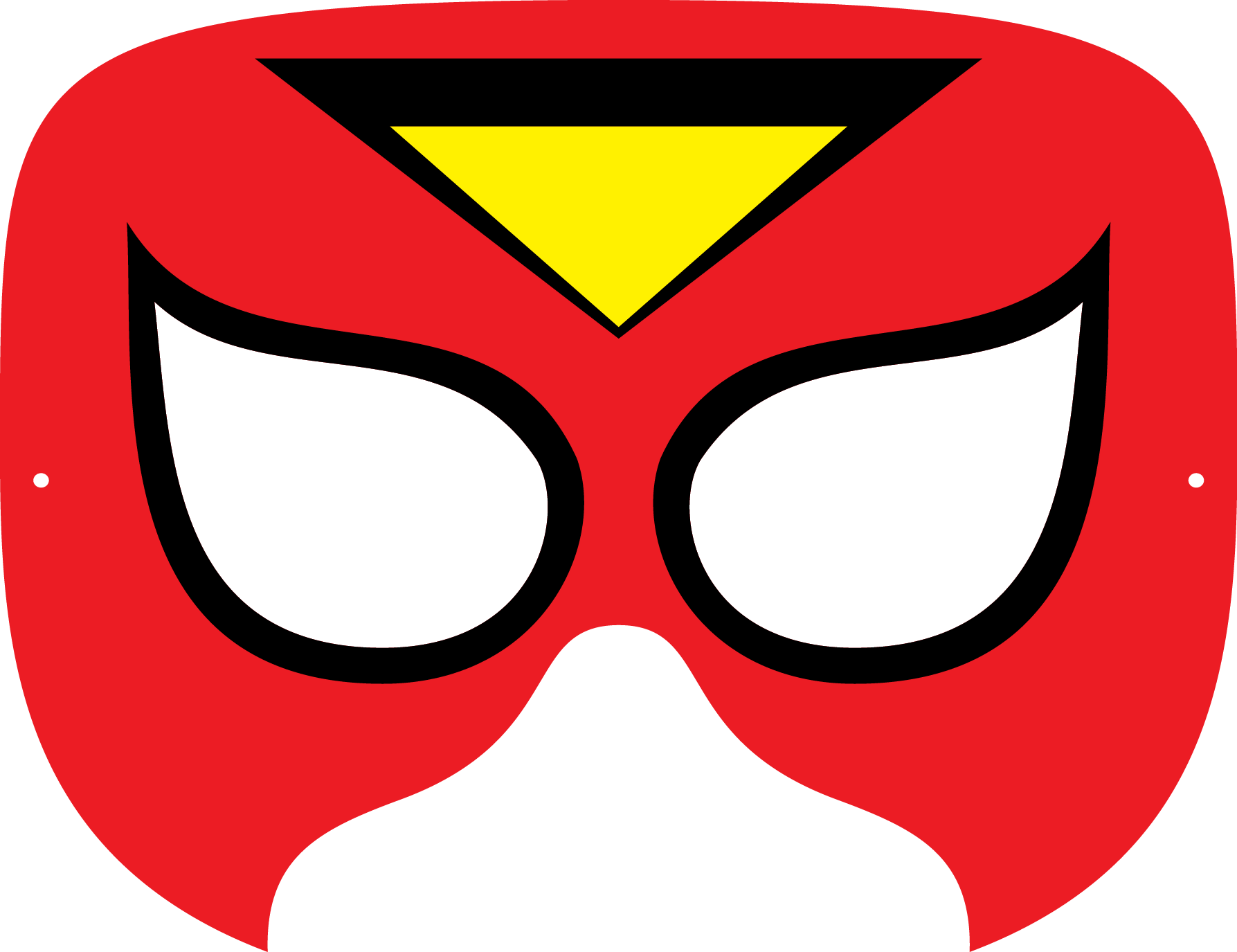 photo relating to Printable Superhero Masks named Superhero Mask Template No cost down load simplest Superhero Mask