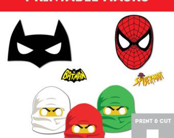 340x270 Printable Mask Etsy