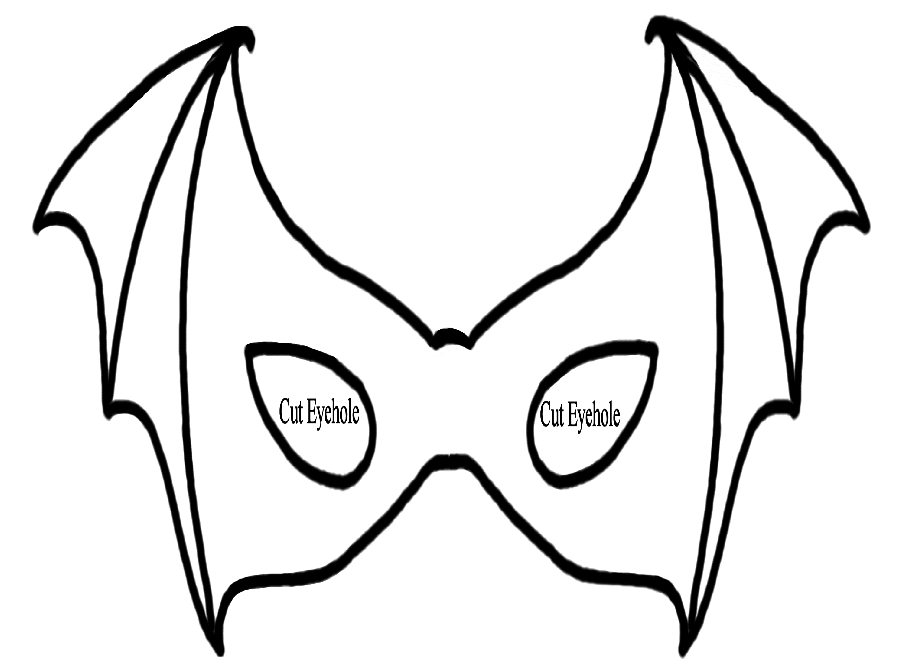 900x670 8 Best Images Of Superhero Coloring Pages Halloween Masks