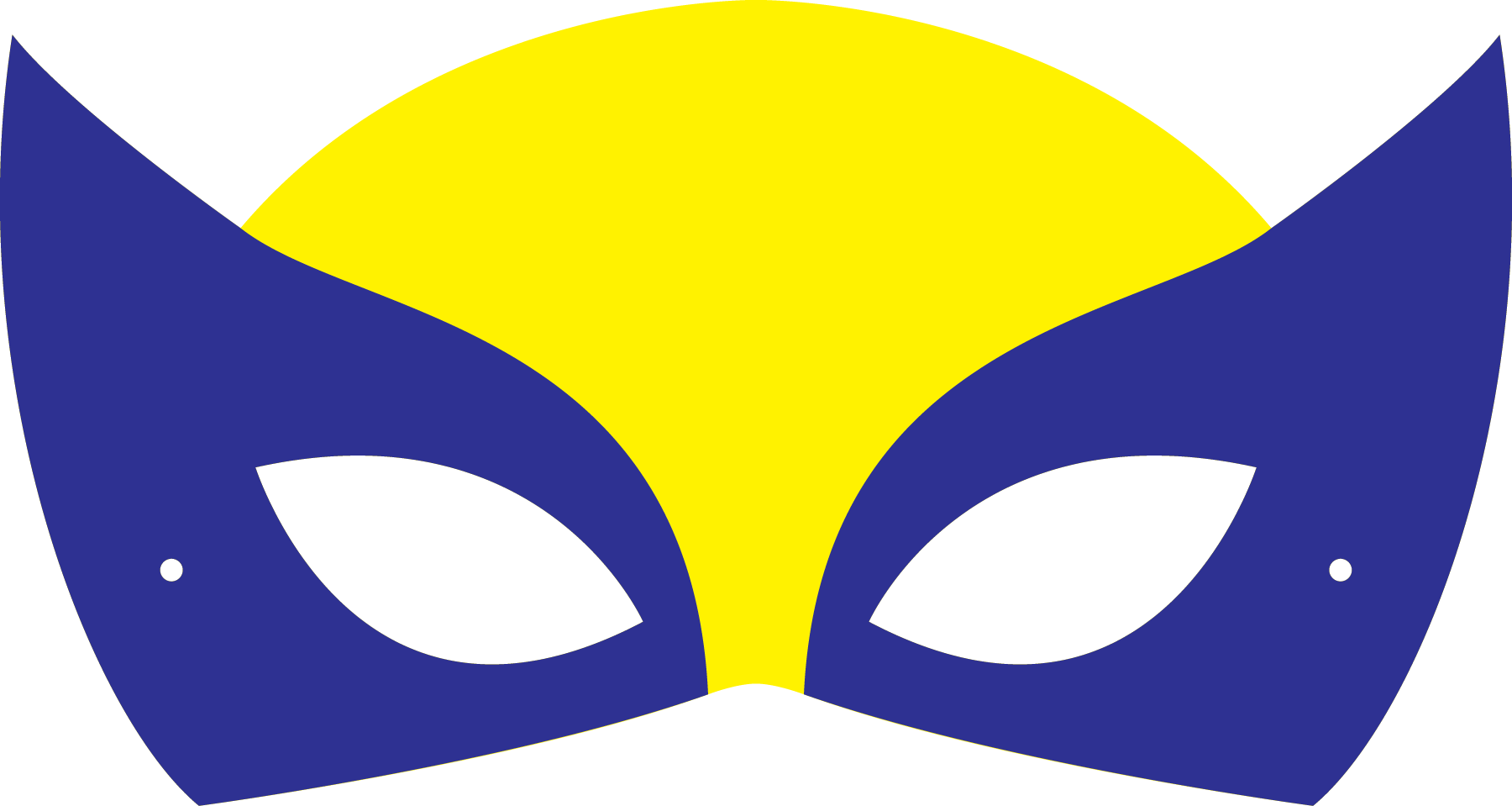 1800x959 Wolverine Clipart Mask