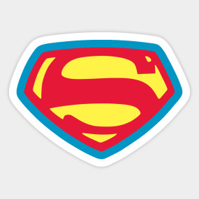 285x285 1950s Superman Shield From Adventures Of Superman