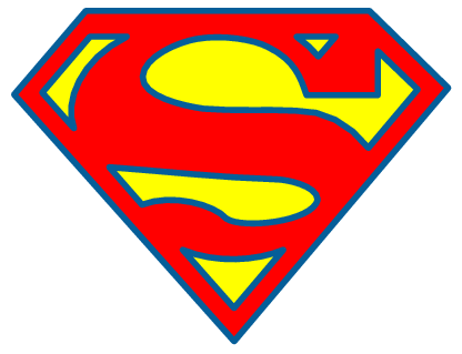416x319 Superman Clipart Superman Cape