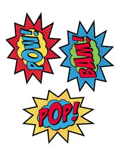 236x308 Free Superhero Word Bubble Printable Superhero, Free And Hero