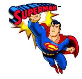 261x252 Free Superman Cartoon Clipart
