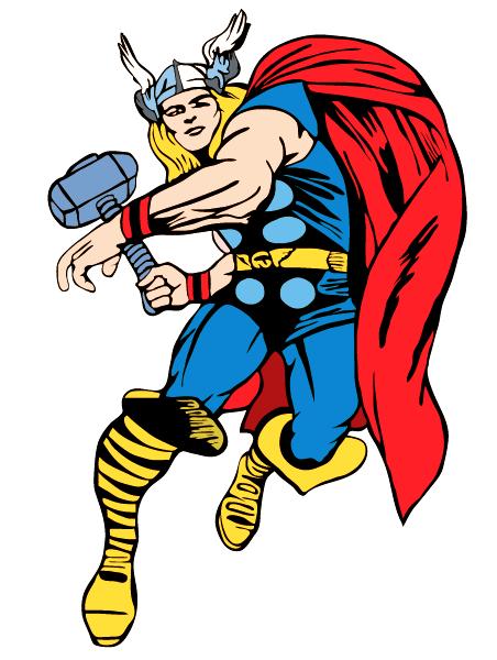452x600 Free Superhero Printables