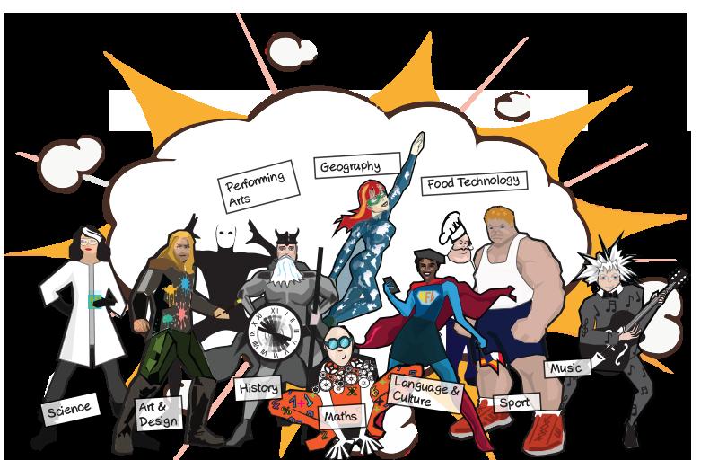 800x512 Superheroes