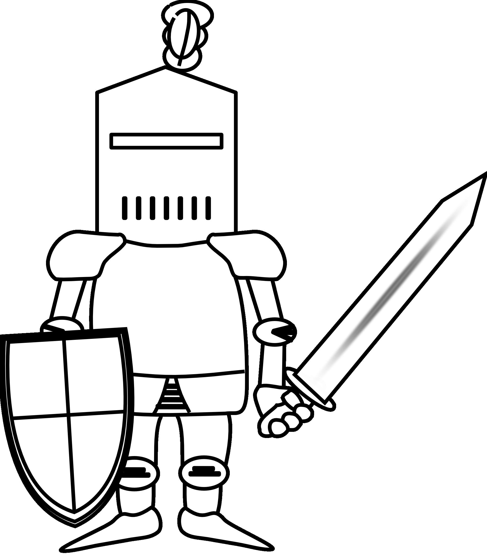 1969x2240 Clipart Knight 2