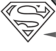 188x171 Drawn Superman Superman Cape