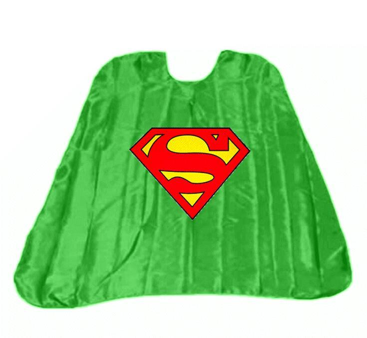 735x676 Single Layer Adult Superhero Cape Superman Cape Customized Logo