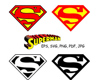 340x270 Superman Svg Superman Clipart Superman Logo Clip Art