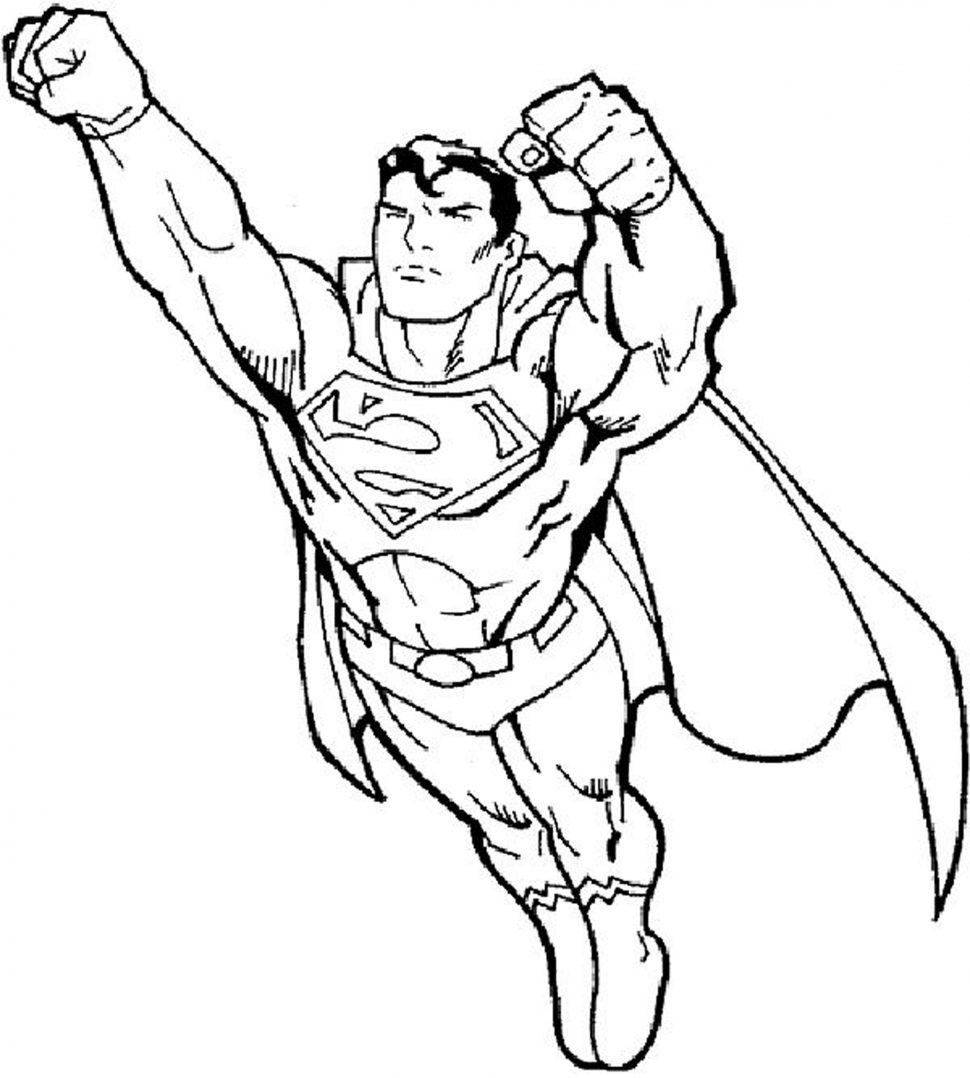 970x1078 Elegant Superman Coloring Pages Coloring Pages Activities