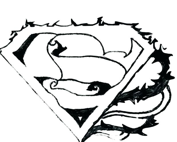 618x497 Superman Logo Coloring Pages Superman Coloring Pages Superman Logo