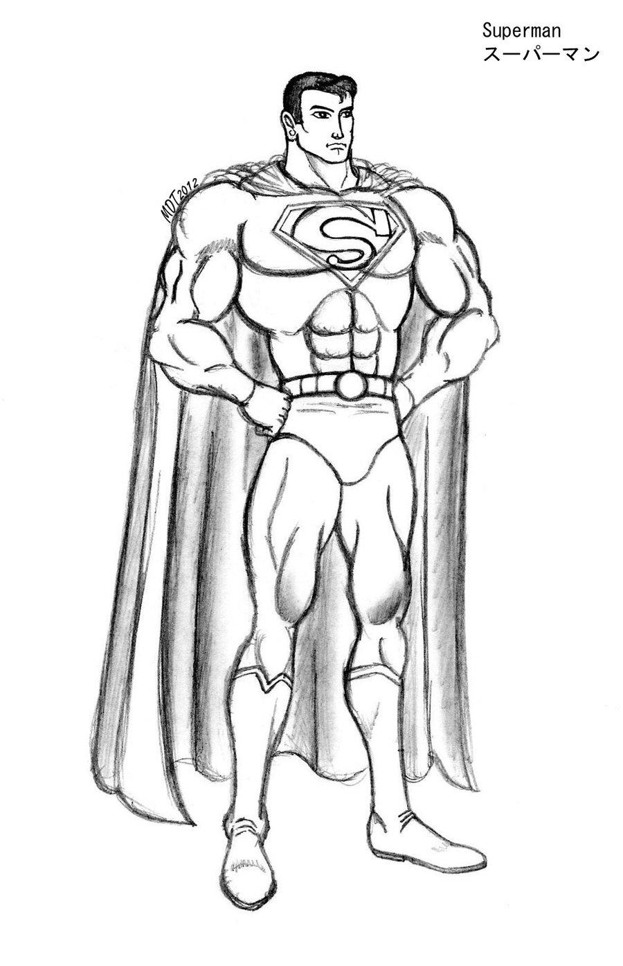 900x1394 Superman By Mdtartist83