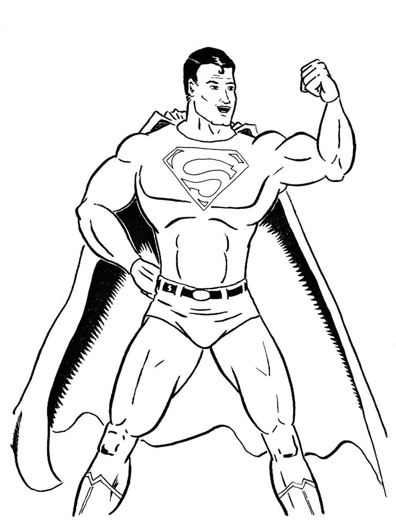 772x1036 Superman Plain And Simple By Captblitzdawg