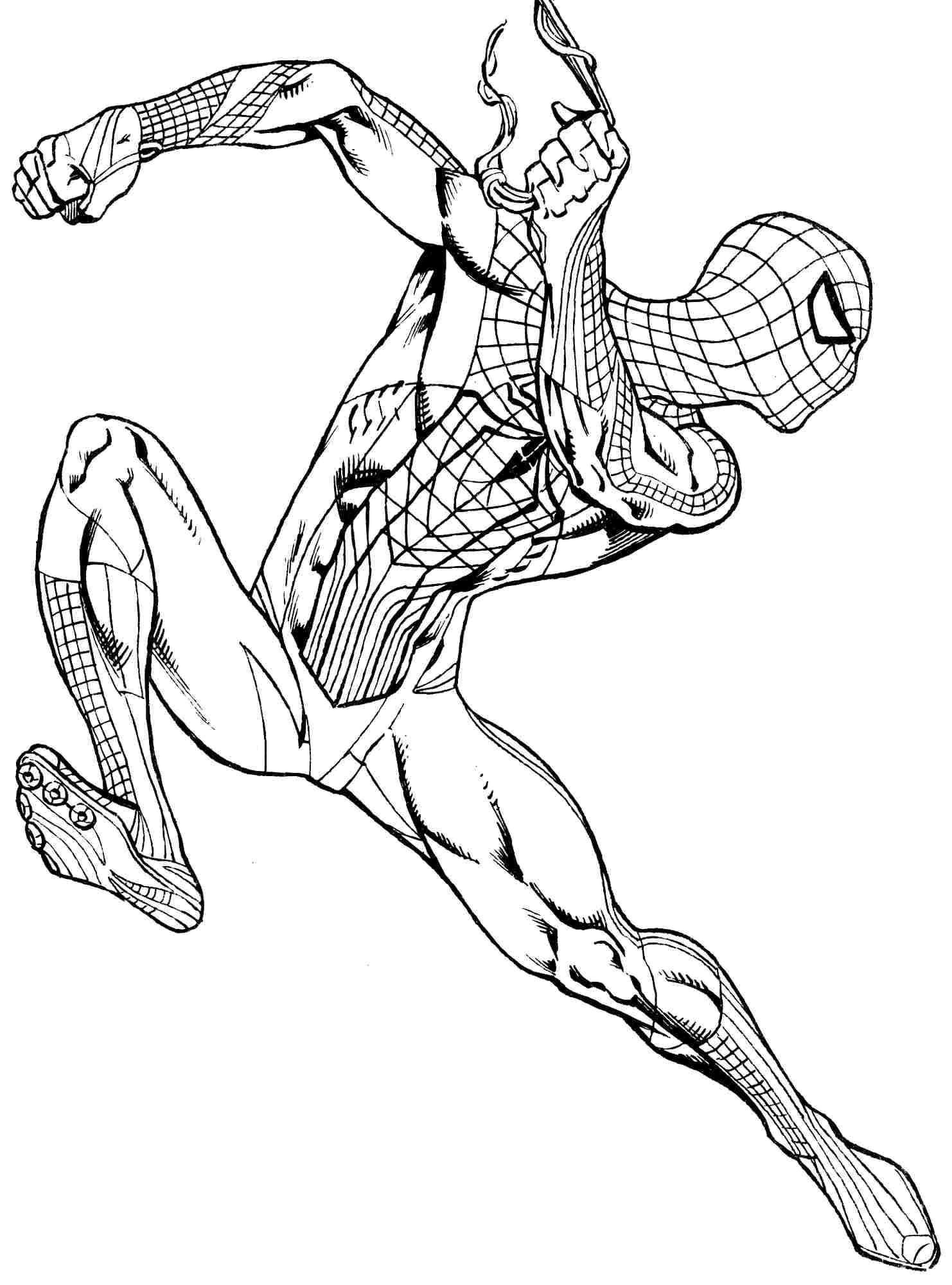 Black spiderman coloring pages games ~ Superman Drawing | Free download best Superman Drawing on ...