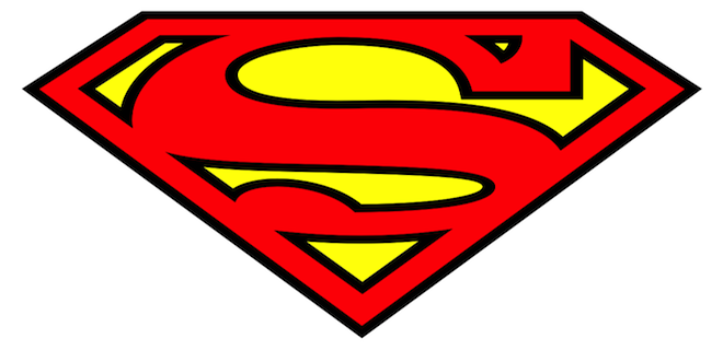 superman logo outline free download best superman logo