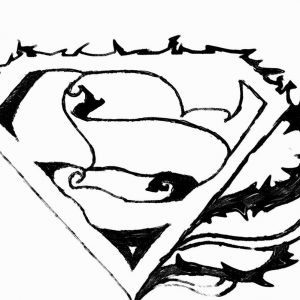 300x300 Adult Superman Symbol Batman Superman Symbol Combined. Superman