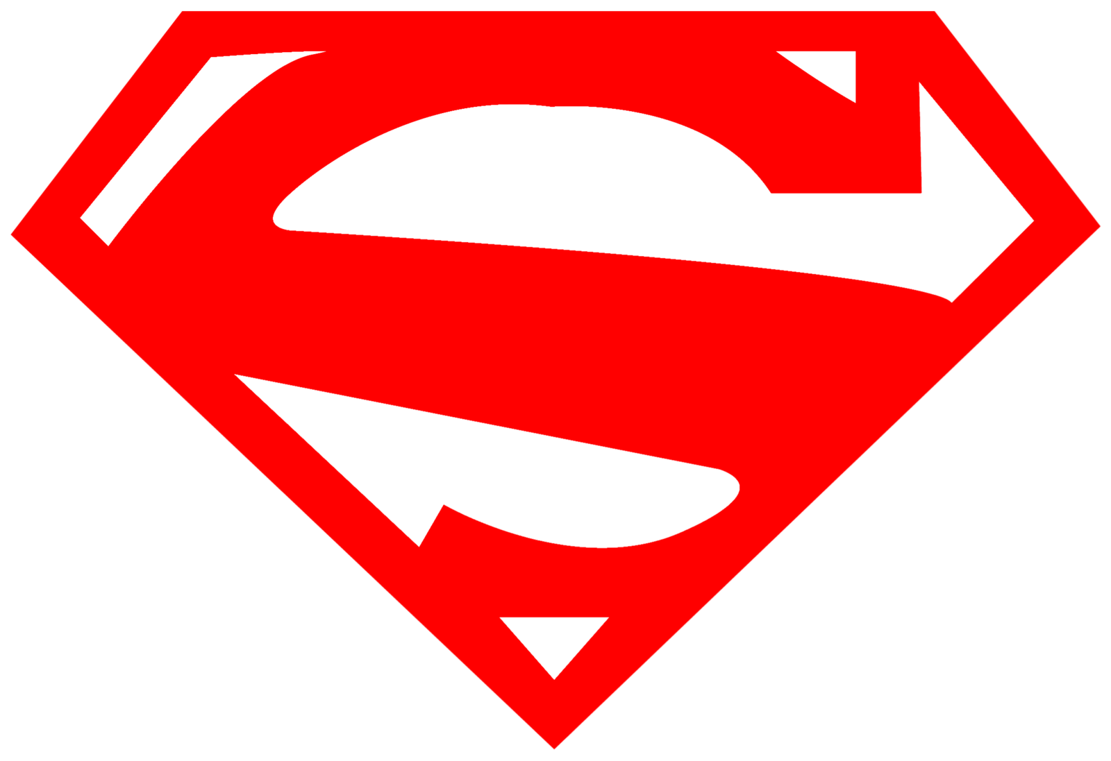 1600x1097 New 52 Superman Symbol Red By Deathcantrell