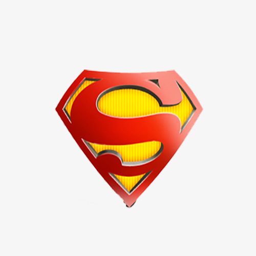 500x500 Red Triangle Superman Logo, Red, Triangle, Superman Png And Psd
