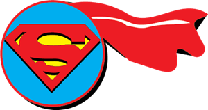 300x158 Superman Logo Vector (.eps) Free Download