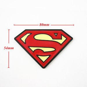 300x300 Metal 3d Superman Logo Emblem Decal 3m Sticker Badge For Vw Passat