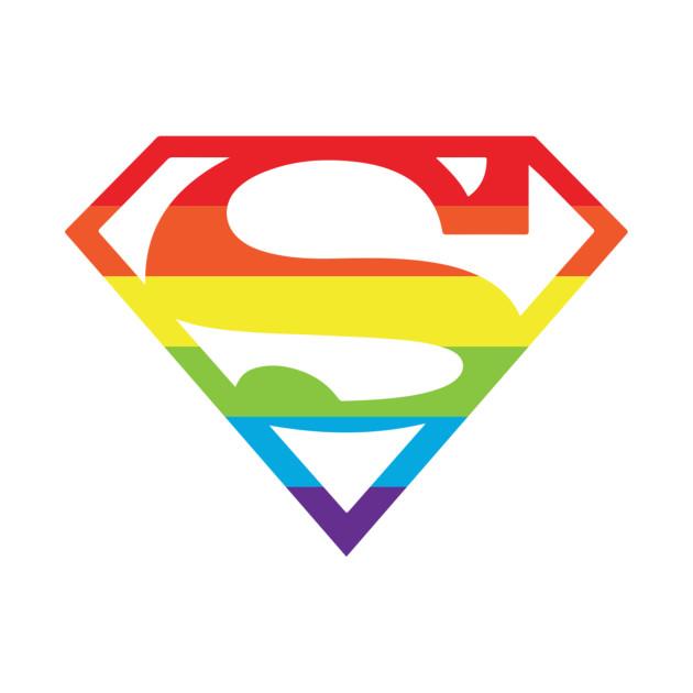 630x630 Superman Gay Pride Logo
