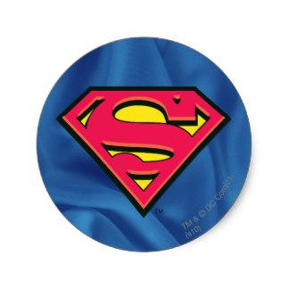 324x324 Superman Logo Stickers Zazzle