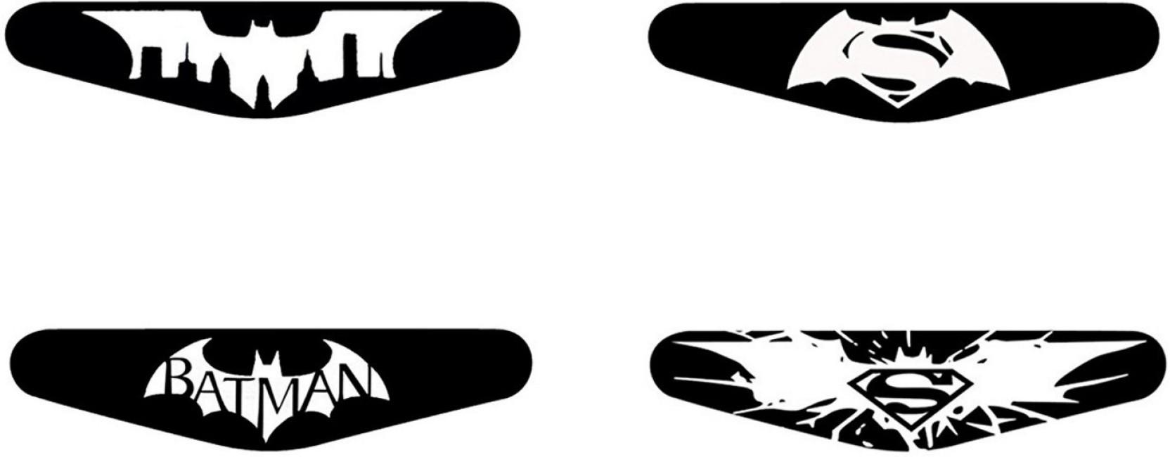 1664x650 Al Pacino Batman Vs Superman Logo Led Light Bar Decal Sticker