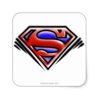 324x324 Custom Superman Symbol Stickers Zazzle.ca