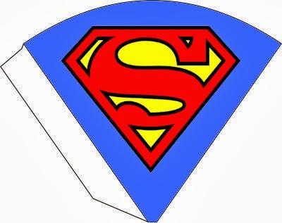 400x317 Superman Symbol Free Printable Kit.