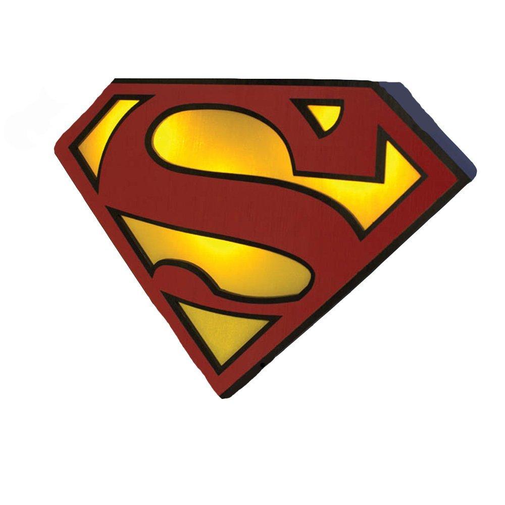 1000x1000 Paladone Dc Comics Superman Logo Night Light Toys Amp Games