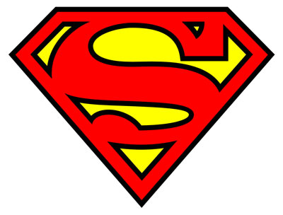 400x304 Best Superman Logo Clipart