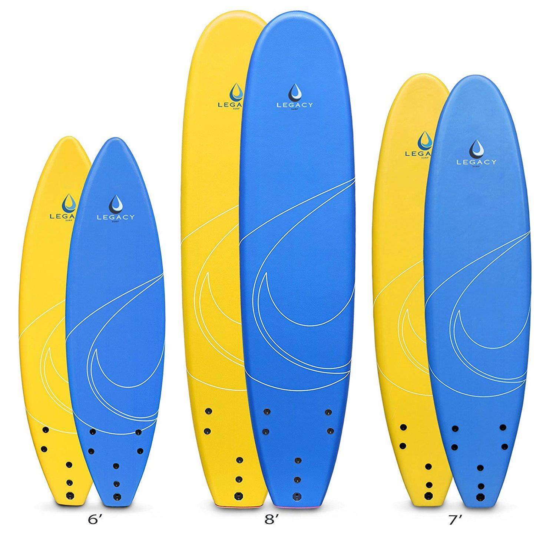 1500x1500 Legacy Soft Surfboard Beginners Surf Board Foamie