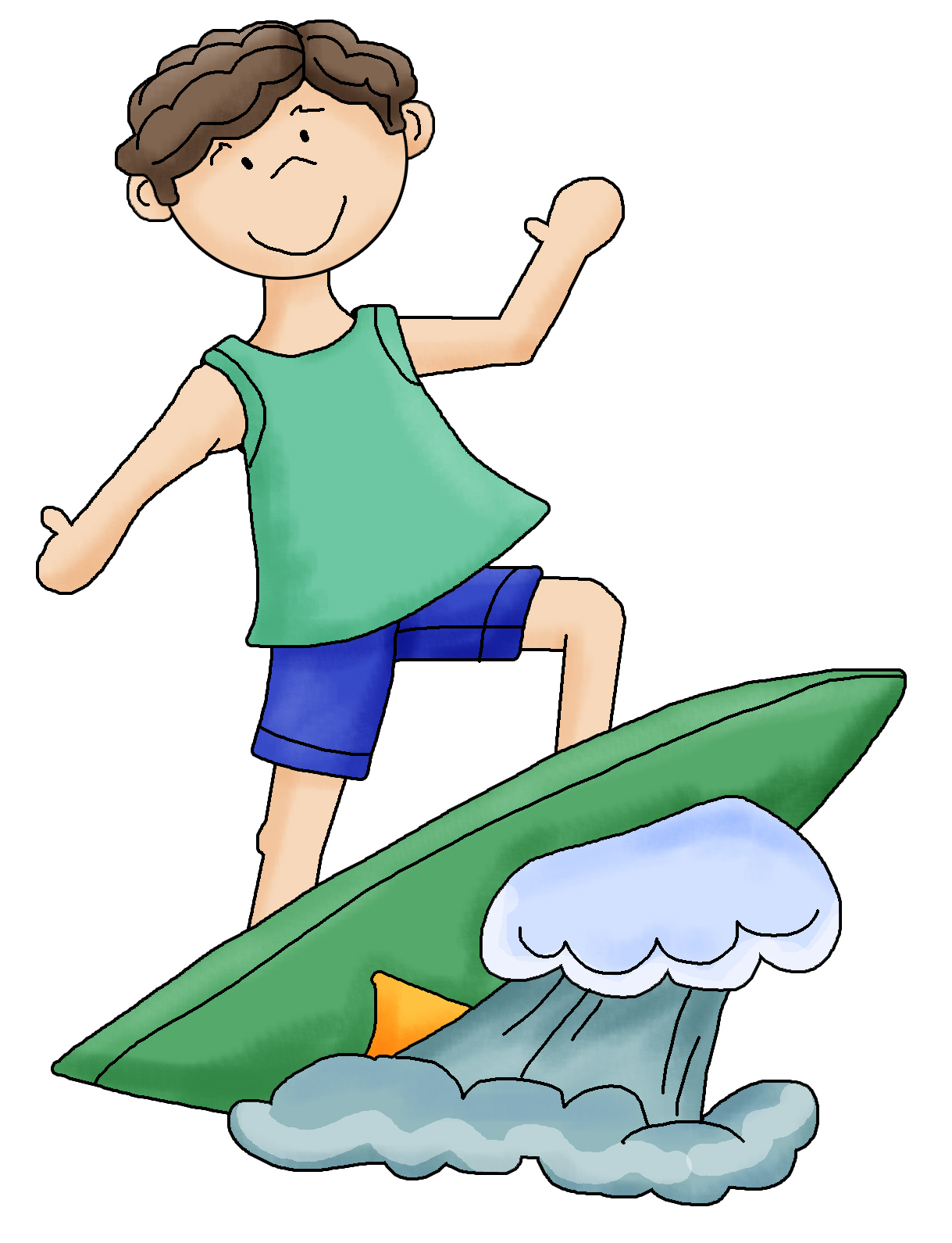 Surf Clipart Free